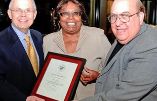 College's Board of Trustees honors member Dr. Gloria Lee-Ford '72;
