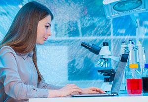 examining human biology;