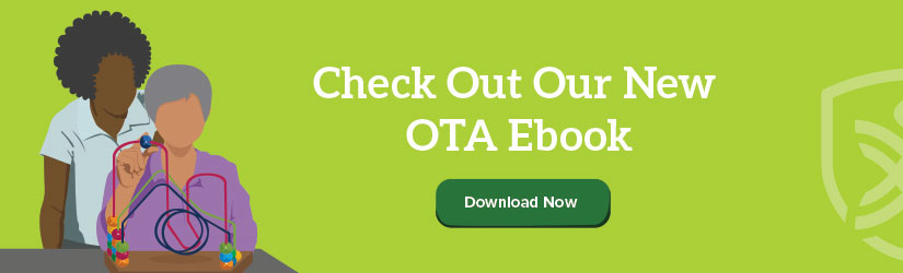 OTA: click now for FREE OTA career ebook!