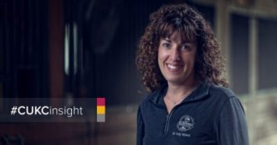 Photo: Dr. Emily McLeod, animal chiropractor;